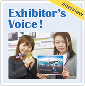 Interview: Exhibitor's Voice !
